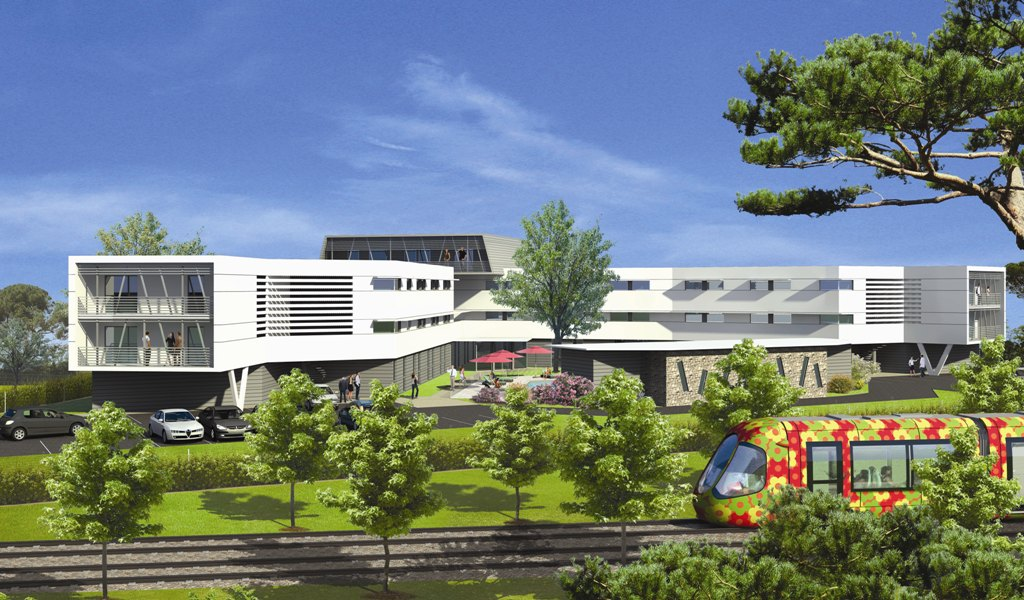 residence etudiante-Résidence d'affaires et étudiante City'in